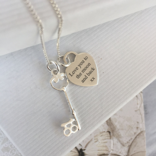 18th Birthday jewellery gift for a sister - FREE ENGRAVING